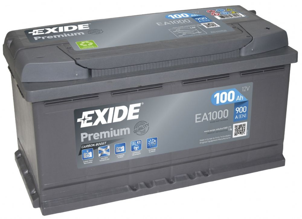 Car Battery Recycling >> Exide Premium 017TE Car Battery EA1000